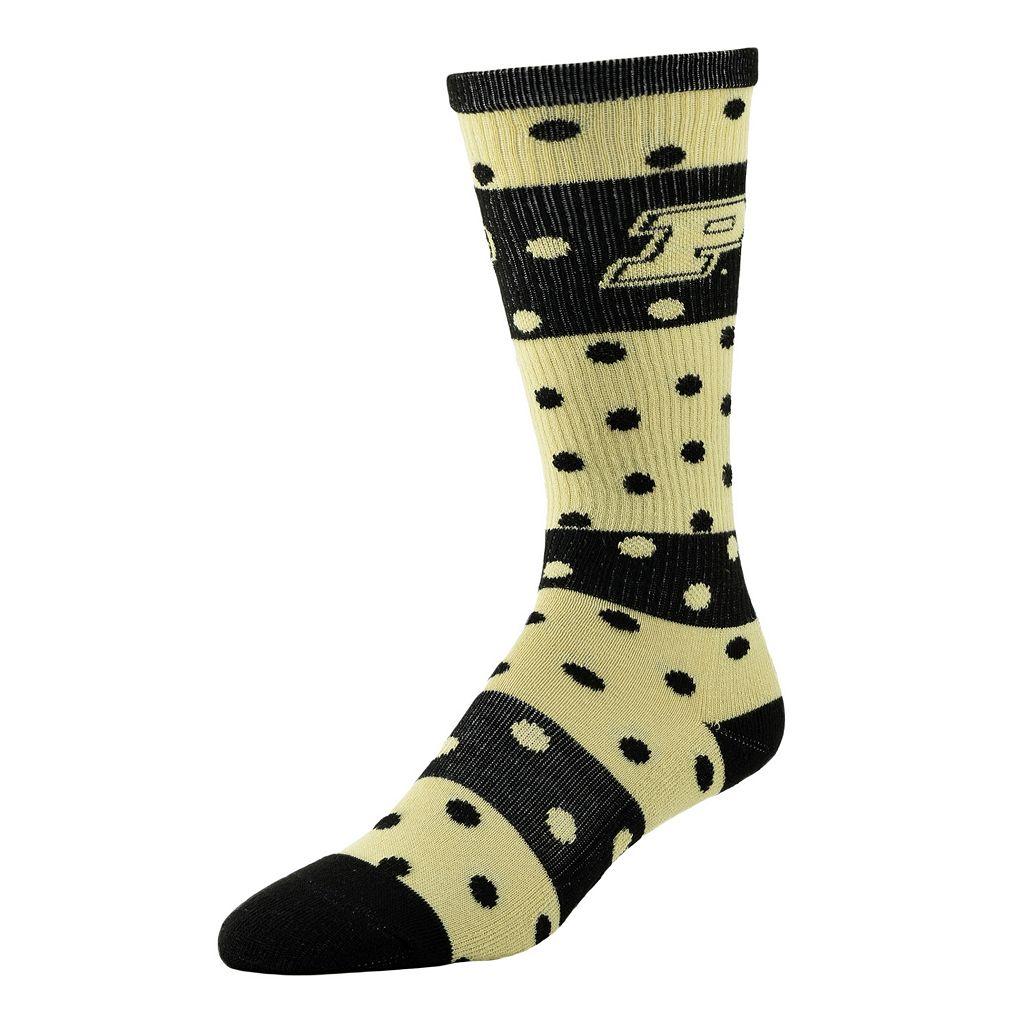 Women's Purdue Boilermakers Dotted Line Knee-High Socks