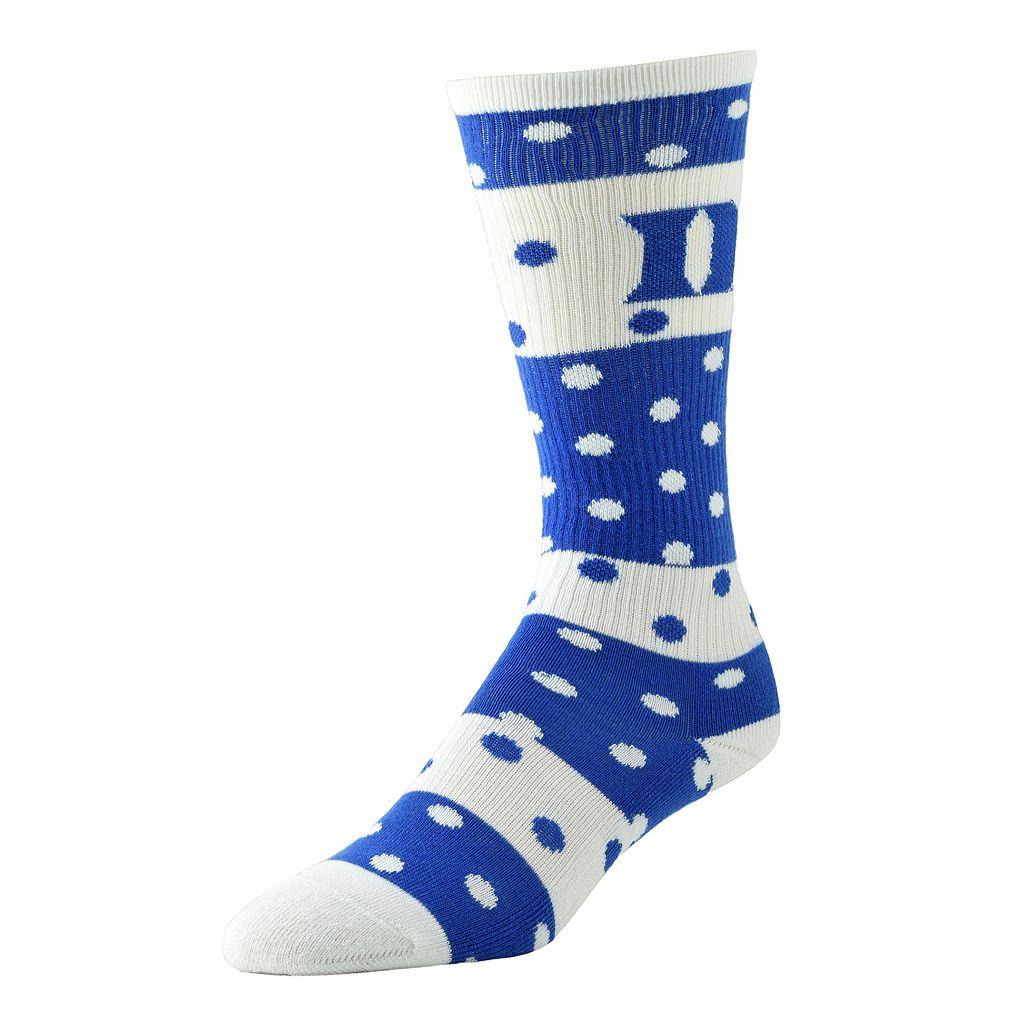 Women's Duke Blue Devils Dotted Line Knee-High Socks