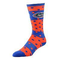 Women's Florida Gators Dotted Line Knee-High Socks