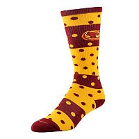 Women's Iowa State Cyclones Dotted Line Knee-High Socks