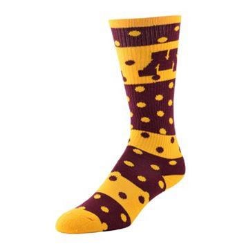 Women's Minnesota Golden Gophers Dotted Line Knee-High Socks