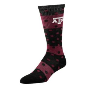 Women's Texas A&M Aggies Dotted Line Knee-High Socks