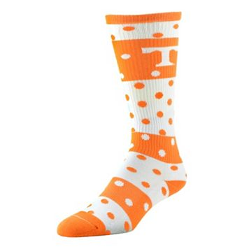 Women's Tennessee Volunteers Dotted Line Knee-High Socks