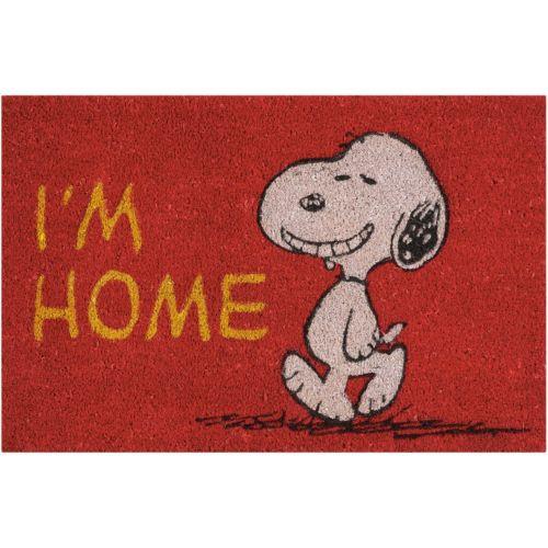 "Peanuts ""I'm Home"" Coir Welcome Doormat – 18"" x 28"""