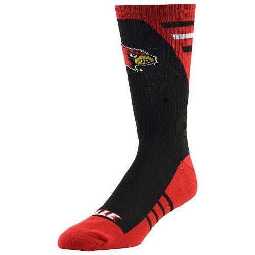 Women's Louisville Cardinals Energize Crew Socks