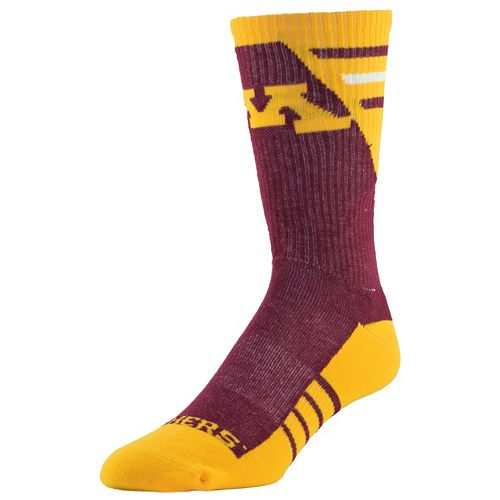Women's Minnesota Golden Gophers Energize Crew Socks