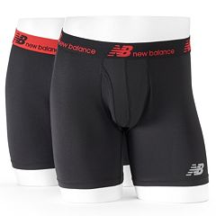Men's New Balance 2-pack Dry Fresh Performance Boxer Briefs by