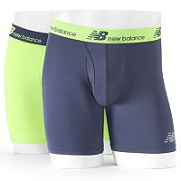 Men's New Balance 2-pack Dry Fresh Performance Boxer Briefs