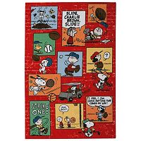 Peanuts Sports Fan Rug