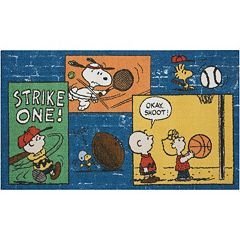 Peanuts 'Strike One' Rug