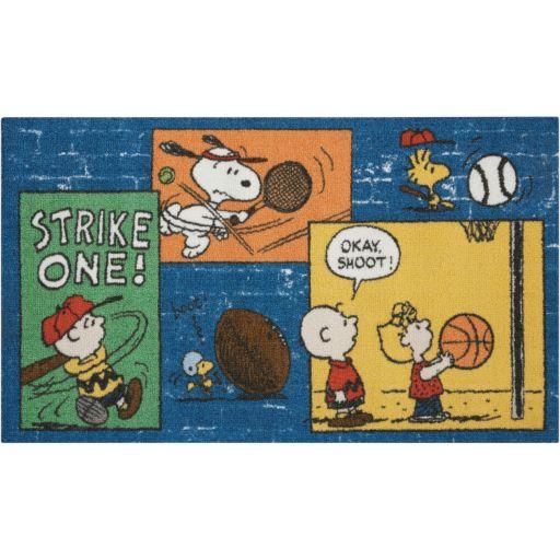"Peanuts ""Strike One"" Rug"