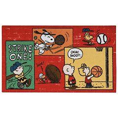 Peanuts 'Strike One' Rug