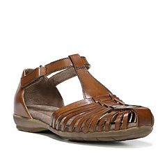 NaturalSoul by naturalizer Gylo Women's Leather Huarache Sandals