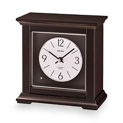Seiko Wood Musical Mantel Clock - QXW245BLH