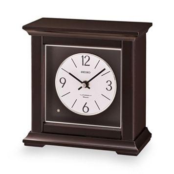Seiko Wood Musical Mantel Clock - QXW245BLH