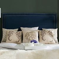 Safavieh Cory Nailhead Navy Headboard