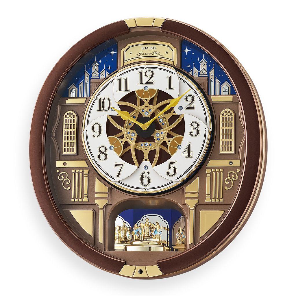 Seiko Melodies in Motion Wall Clock - QXM362BRH