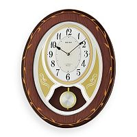 Seiko Melodies in Motion Wood Wall Clock - QXM364BLH