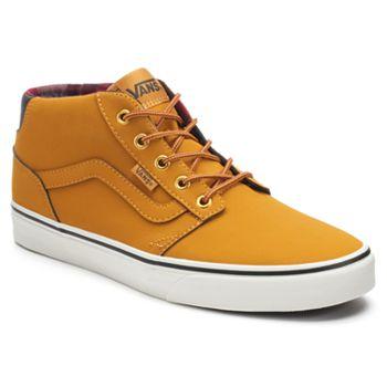 Vans Chapman Mid Men s Water-Resistant Skate Shoes 3e709e500