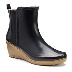 Chooka Women's Wedge Waterproof Rain Boots