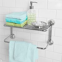 Splash Home Towel Shower Shelf