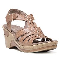 NaturalSoul by naturalizer Riddick Women's Wedge Sandals