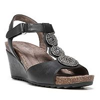 NaturalSoul by naturalizer Tristin Women's Beaded Wedge Sandals