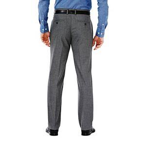 Men's J.M. Haggar Premium Straight-Fit Stretch Flex-Waist Dress Pants