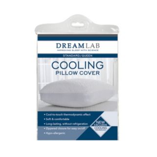 DreamLab by Levinsohn Cooling Jacquard Pillow Protector