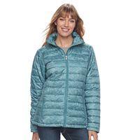 Women's Columbia Frosted Ice Printed Puffer Jacket
