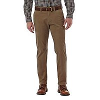 Men's Haggar Slim-Fit Stretch City Chino Flex-Waist Pants