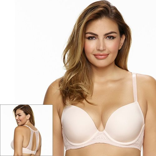 Paramour by Felina Bra: Carolina Lace-Back Full-Figure Contour Bra 115011