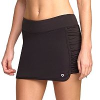 Women's Colosseum Sidewinder Ruched Tennis Skort
