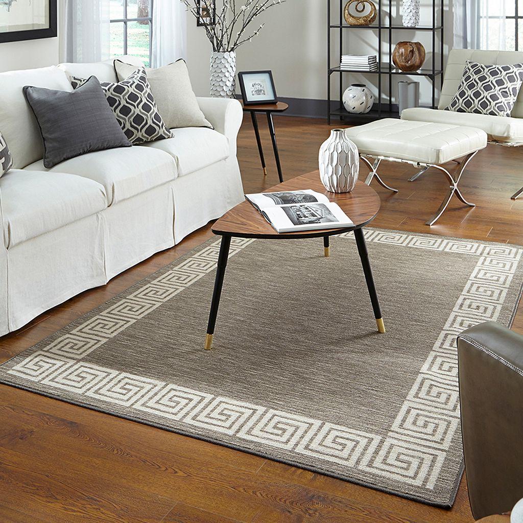 Mohawk® Home Naples Oceanus Framed Scrolling Rug