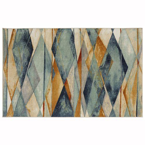 Mohawk® Home Diamond Illusion Geometric Rug