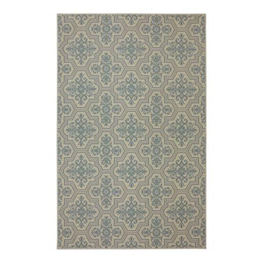 Mohawk® Home Woodbridge Modesto Quatrefoil Rug