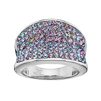 Crystal RadianceConcave Ring