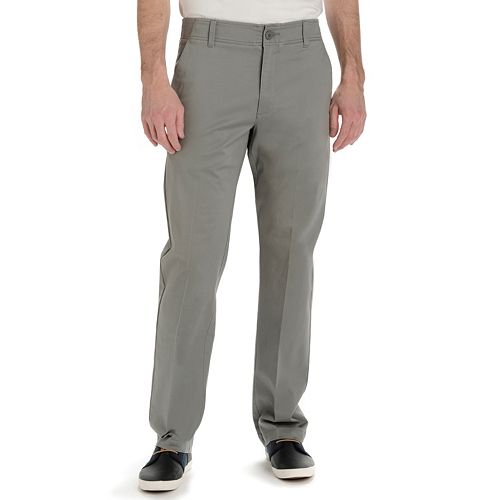 ff64391b Big & Tall Lee Performance Series Extreme Comfort Khaki Straight-Fit Pants