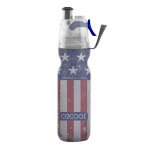 O2COOL ArcticSqueeze Mist 'N Sip 20-oz. Insulated Patriotic Two Squeeze Water Bottle