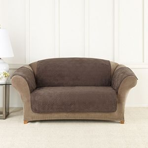 Terrific Sure Fit Lexington Floral Loveseat Slipcover Short Links Chair Design For Home Short Linksinfo