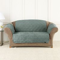 Sure Fit Microfiber Non-Skid Pet Loveseat Cover