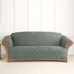 54 99 Regular 109 Sure Fit Microfiber Non Skid Pet Sofa Cover