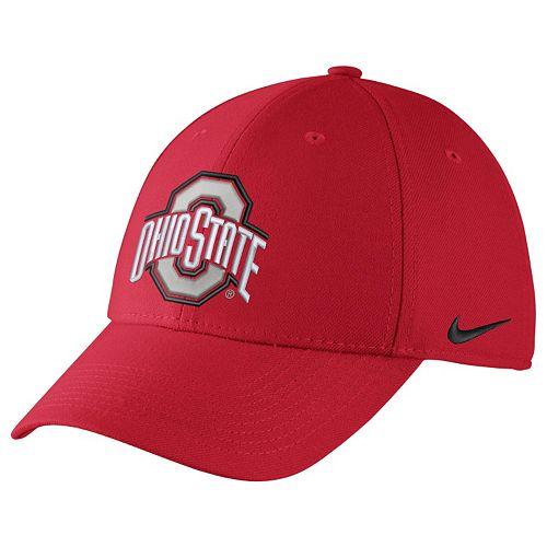 size 40 edca8 5e7d3 Men s Nike Ohio State Buckeyes Dri-FIT Flex-Fit Cap