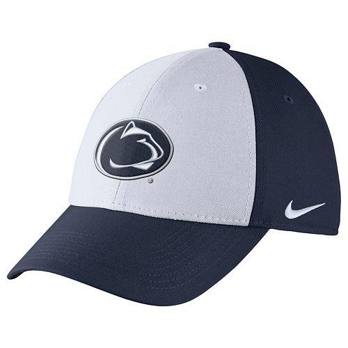 51d40b60552e9 Men s Nike Penn State Nittany Lions Dri-FIT Flex-Fit Cap