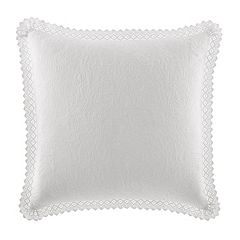 Laura Ashley Lifestyles Vivienne Crochet Euro Sham