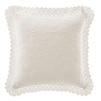 Laura Ashley Lifestyles Vivienne Crochet Throw Pillow