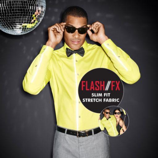 Men's Van Heusen Slim-Fit Flash/FX Dress Shirt