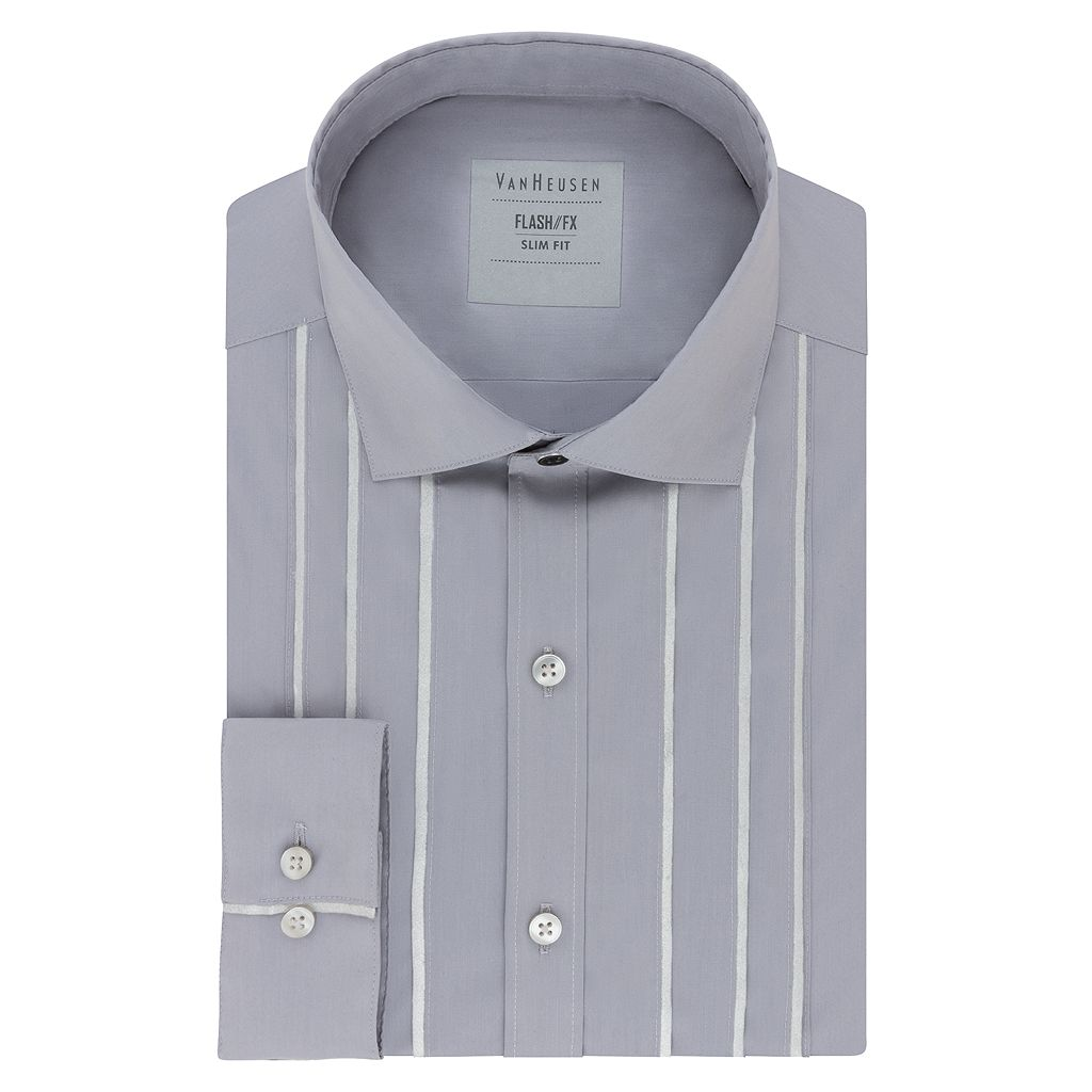 Men's Van Heusen Slim-Fit Flash/FX Dress Shirt