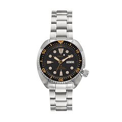 Seiko Men's Prospex Stainless Steel Automatic Dive Watch - SRP775