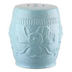 Kids Safavieh Lotus Garden Stool